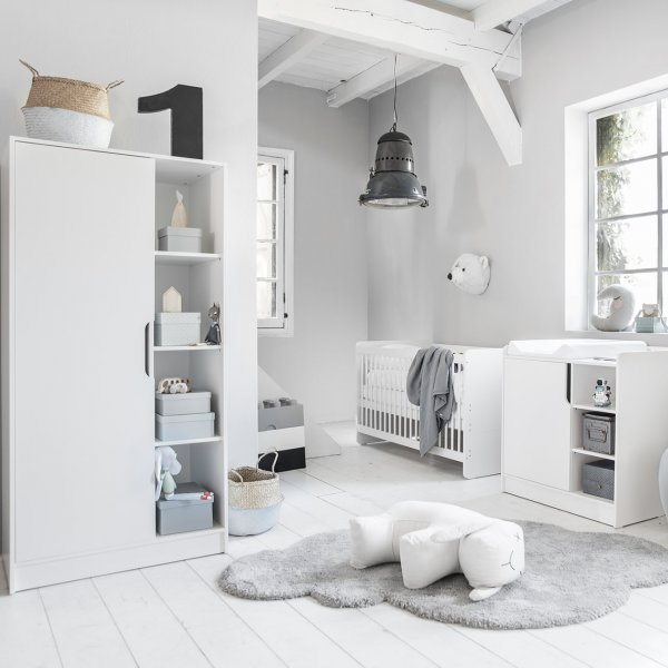 Complete driedelige babykamer Maxime