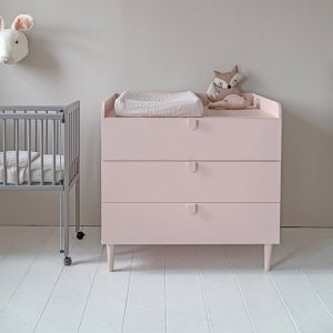 Etoile commode inclusief bladvergroter roze